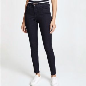 L'Agence   Margot High Rise Skinny Jeans Eclipse